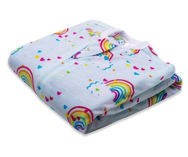 rainbows sleeping star zipadee-zip lightweight sleeping baby